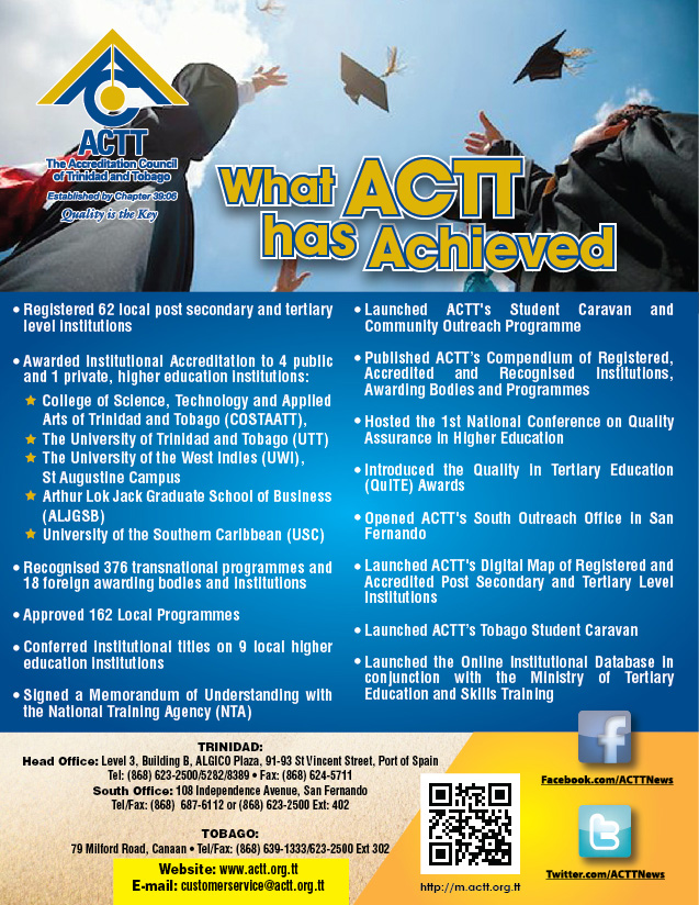 ACTT's Achievements